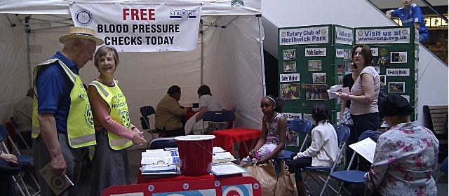 Free Blood Pressure checks in April each year